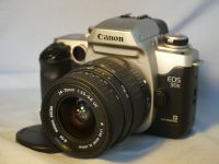 '  24-70mm Canon EF Fit + EOS 50E NICE SET ' Canon EOS 50E SLR Camera + 24-70mm Lens -NICE- £49.99